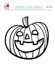Citrouille D Halloween Dessin : coloriage la citrouille ~ Nature-et-papiers.com Idées de Décoration
