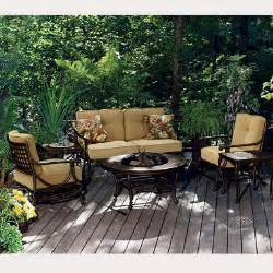 belize pit outdoor furniture set 6 pc sam s club