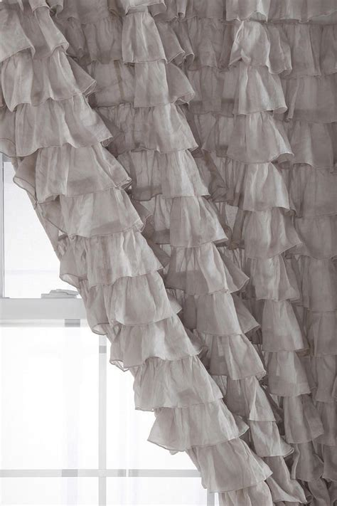 grey ruffle blackout curtains 17 best images about window creations on