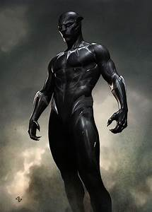 Concept art shows a very different approach to Black Panther