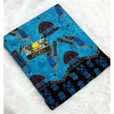 jual batik papua  biru katun tinta emas  lapak