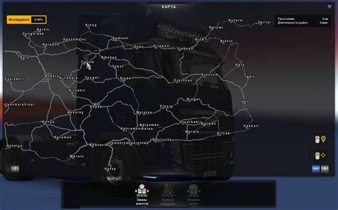 map  turkey  georgia  full map ets ets mod