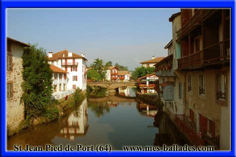 le village medieval de saint jean pied de port