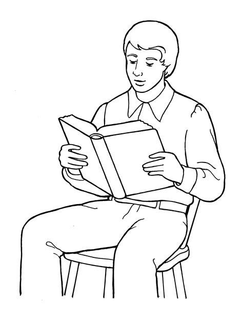 Joseph Smith Reading the Scriptures