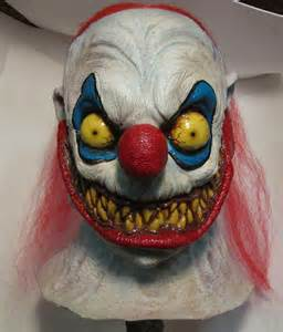 Scary Clown Mask