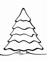 Pine Coloring Pages Trees Tree Printable Getcolorings sketch template