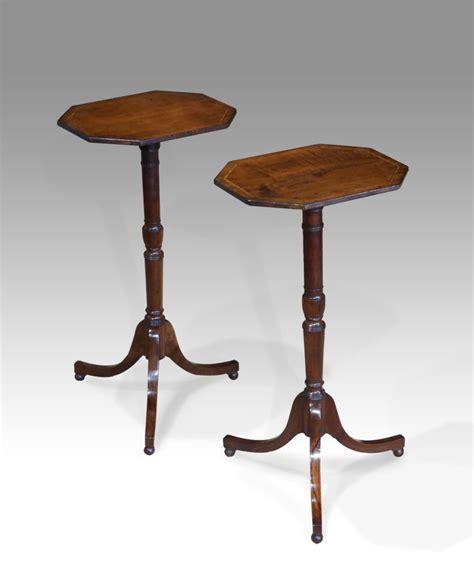 pair  antique tripod tables antiques   antique