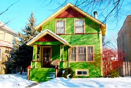 Bright Green House Exterior House Colors Exterior House Paint Ideas Photos HouseLogic
