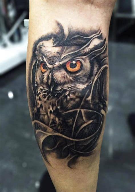 amazing owl tattoos  pxa body art