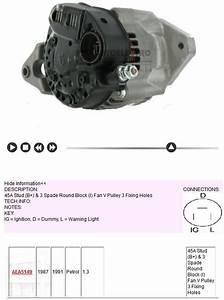 240d Alternator Wiring For Suzuki Samurai