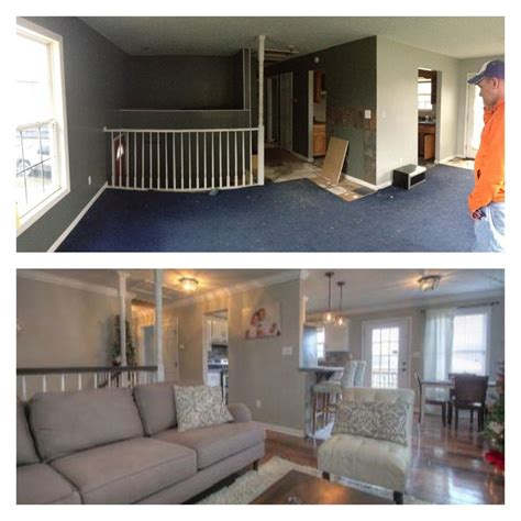 before and after valspar frappe paint color my world pinterest frappe and house