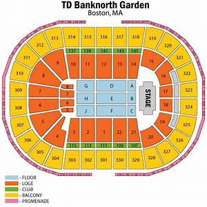 Katy perry june 18 tickets boston td garden katy perry for Garden seating chart