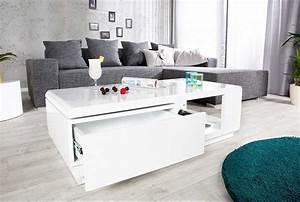 Couchtisch Weiß Hochglanz Günstig : hochglanz weiss modernen apartment ~ Indierocktalk.com Haus und Dekorationen