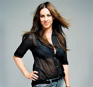 Seven things you oughta know about Alanis Morissette