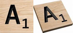 we offer solid wood over size and extra large scrabble tile With extra scrabble letters
