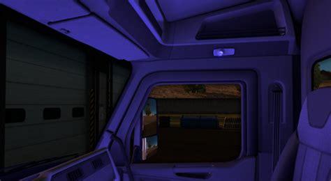 cabin lights ats  mod ats mod american truck