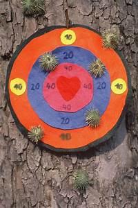 Spiele Fuer Kinder : basteln mit kindern kostenlose bastelvorlage selbst gebastelte spiele dartspiel mit kletten ~ Buech-reservation.com Haus und Dekorationen