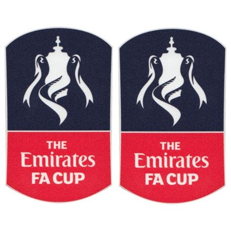 Emirates FA Cup Patch Pair 2015 / 2017