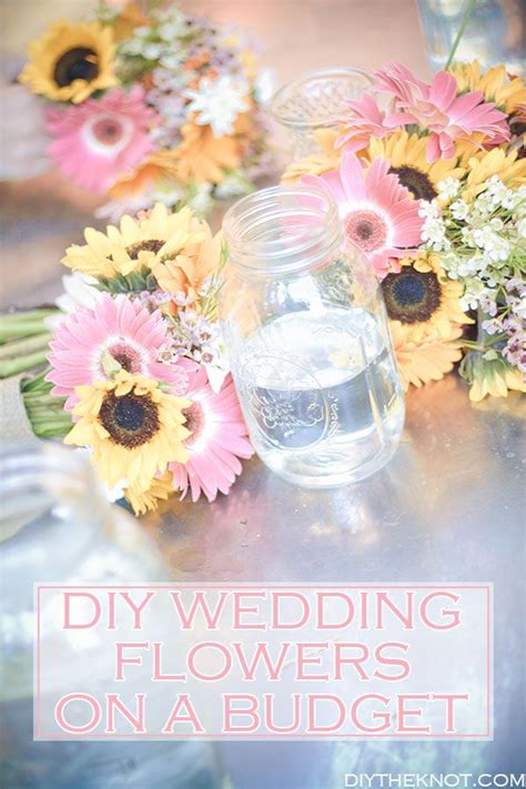 diy wedding flowers on a budget diy wedding ideas