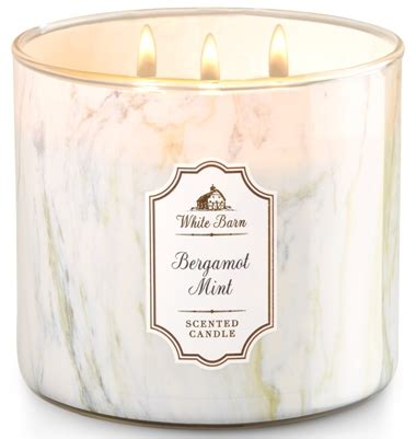 white barn candles bergamot mint white barn scented candle review candlefind