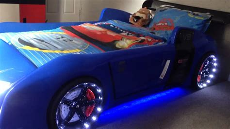 blue  extreme  ultimate car bed  kids youtube