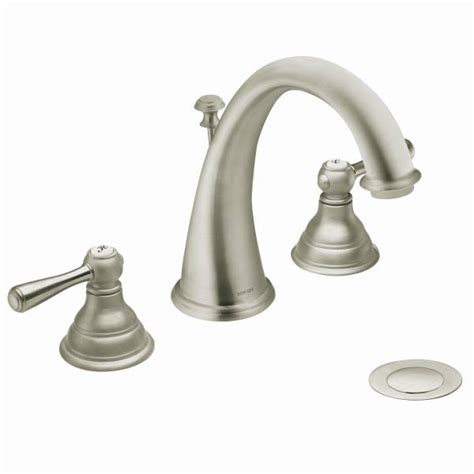 t6125bn moen kingsley series two handle widespread