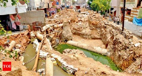 Boat Club Pune Hdfc Bank Ifsc Code by Culvert Work In Secunderabad Throws Out Of Gear