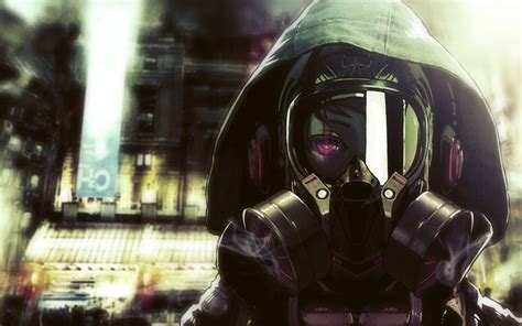 1680x1050 Anime Wallpaper - 1680x1050 masked anime character desktop pc and mac wallpaper