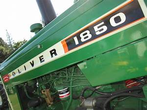 1000  Images About Oliver Tractors On Pinterest