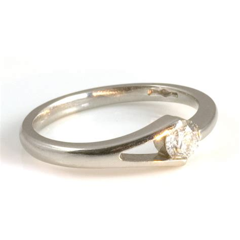 platinum diamond engagement ring from wrights the jewellers uk