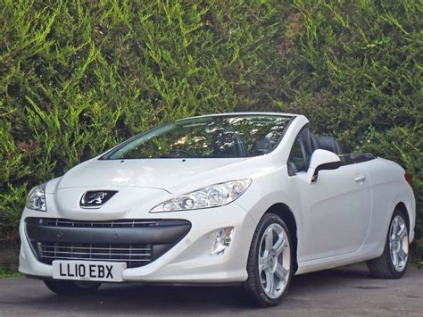 Peugeot Convertible by Peugeot 308 Cabriolet Used 2010 Peugeot 308 Coupe