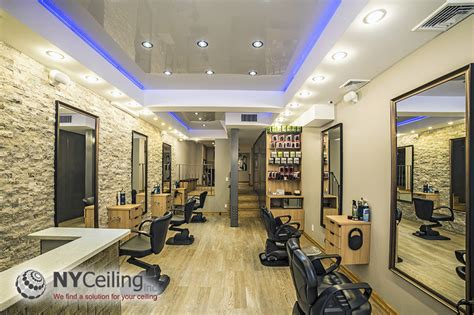 nyceiling inc portfolio salons glossy