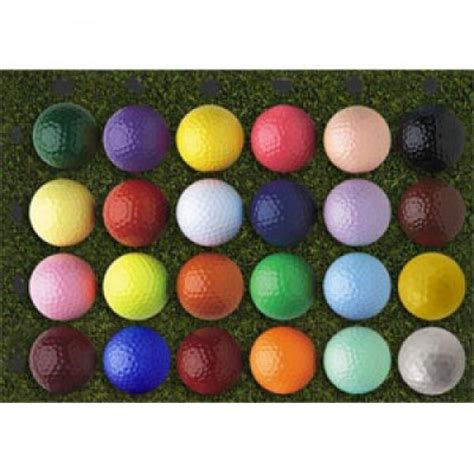 colored golf balls custom logo colored golf balls