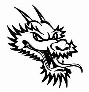 Dragon Head Template - ClipArt Best