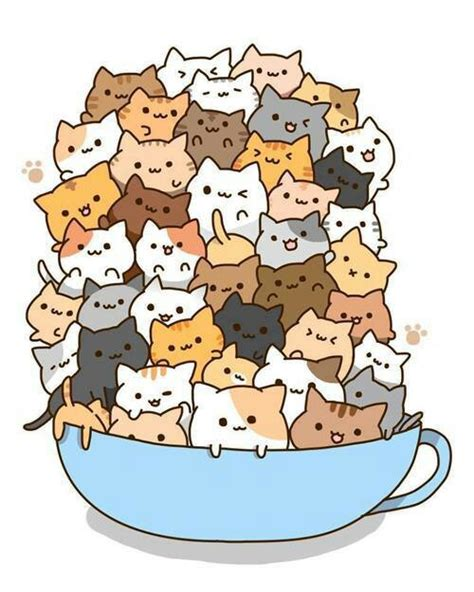 Best Cute Cat Drawings Ideas And Images On Bing Find What You Ll
