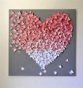 Schmetterling Am Kinderbett : 1000 ideen zu collage bilderrahmen auf pinterest ~ Lizthompson.info Haus und Dekorationen