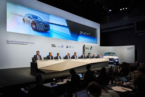 BMW GROUP ANNUAL ACCOUNTS PRESS CONFERENCE 2019.