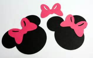 Minnie Mouse Bow Silhouette