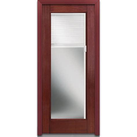 mini blinds for doors doorbuild blinds collection fiberglass mahogany 9170