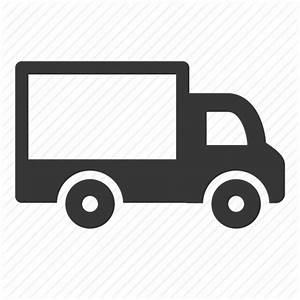 Delivery van, raw, simple, transport, transportation ...