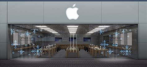 led light shop near me mesmerizing front window displays going up at apple stores