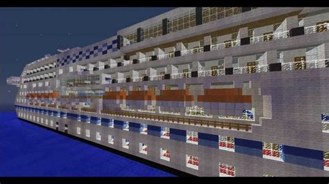 Minecraft PE Cruise Ship [DOWNLOAD] - YouTube