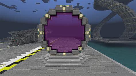 stargate nether portal design minecraft project