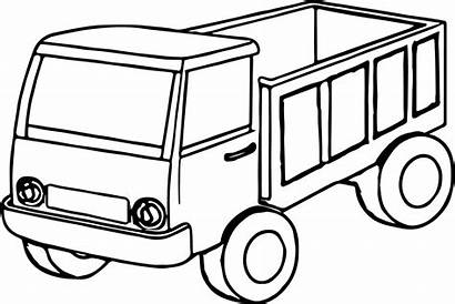 Coloring Pages Truck Trucks Chevy Kenworth Mack