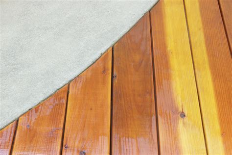 how to seal wood table how to stain and seal a redwood deck