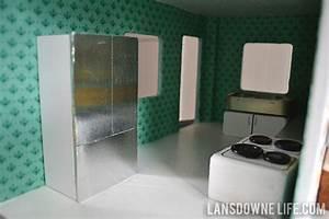 DIY Dollhouse: Kitchen furniture (Part 3 of 6) - Lansdowne