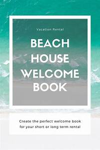 Ultimate Vacation Rental Welcome Book Template 20 Pages