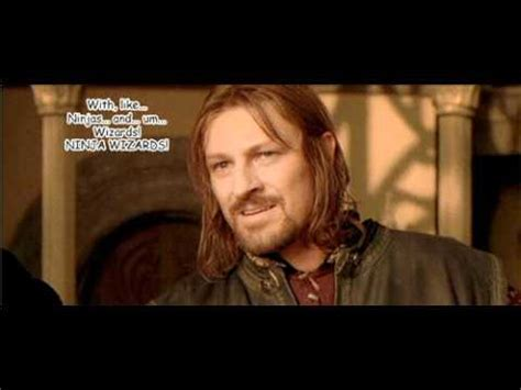 One Does Not Simply Walk Into Mortor  Mordor, With A D