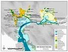 a. Map of 2006 San Francisco Bay Tidal Marsh study sites ...