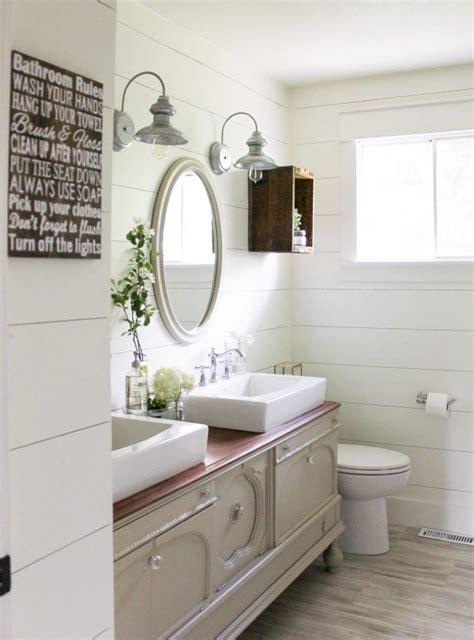 Shiplap For Bathroom Walls by 20 Amazing Bathroom Designs With Shiplap Walls Housely